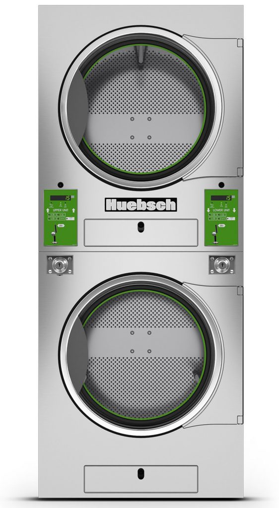 Huebsch Vended Premium Stacked Tumble Dryer
