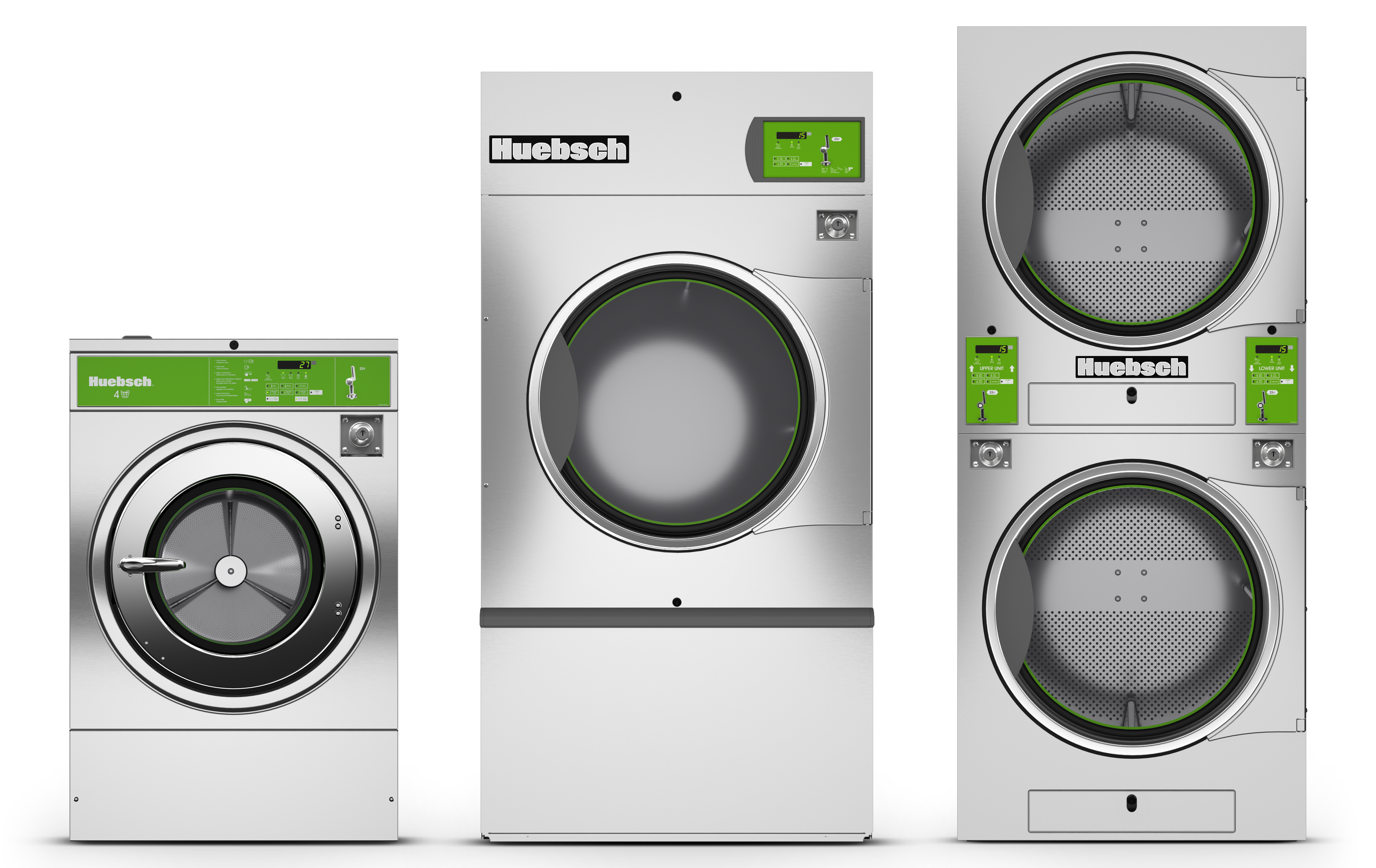 Huebsch Vended Laundry Equipment