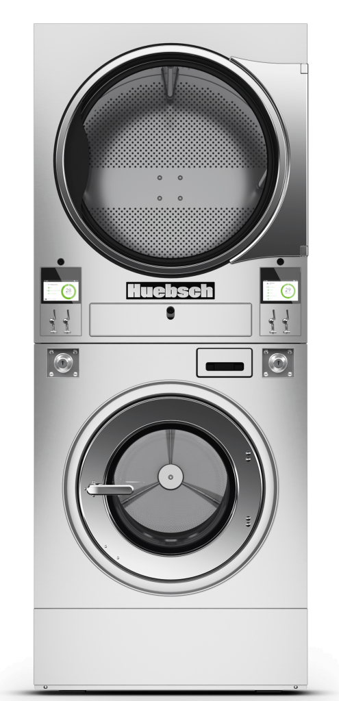 Huebsch Stacked Washer Extractor Tumble Dryer