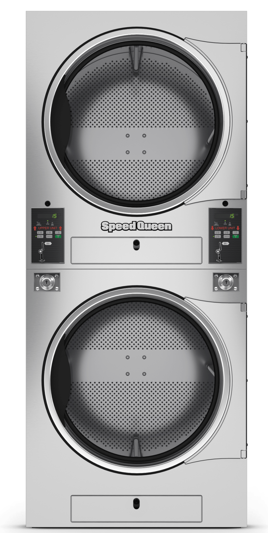 Speed Queen Stack Vended Tumble Dryer