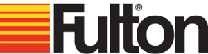Fulton Logo, Hot Water Heating System