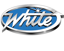 White Conveyors Logo, One of our Dry Cleaning Equipment Brands