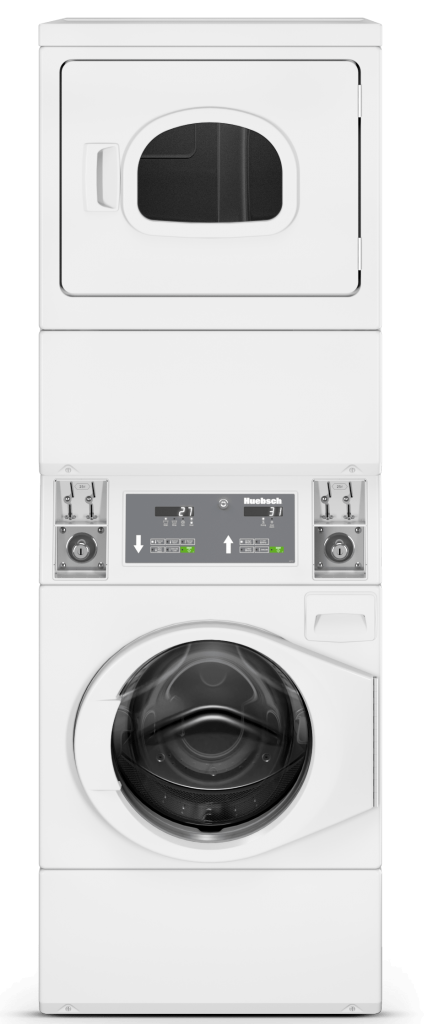 Huebsch Stacked Washer and Dryer