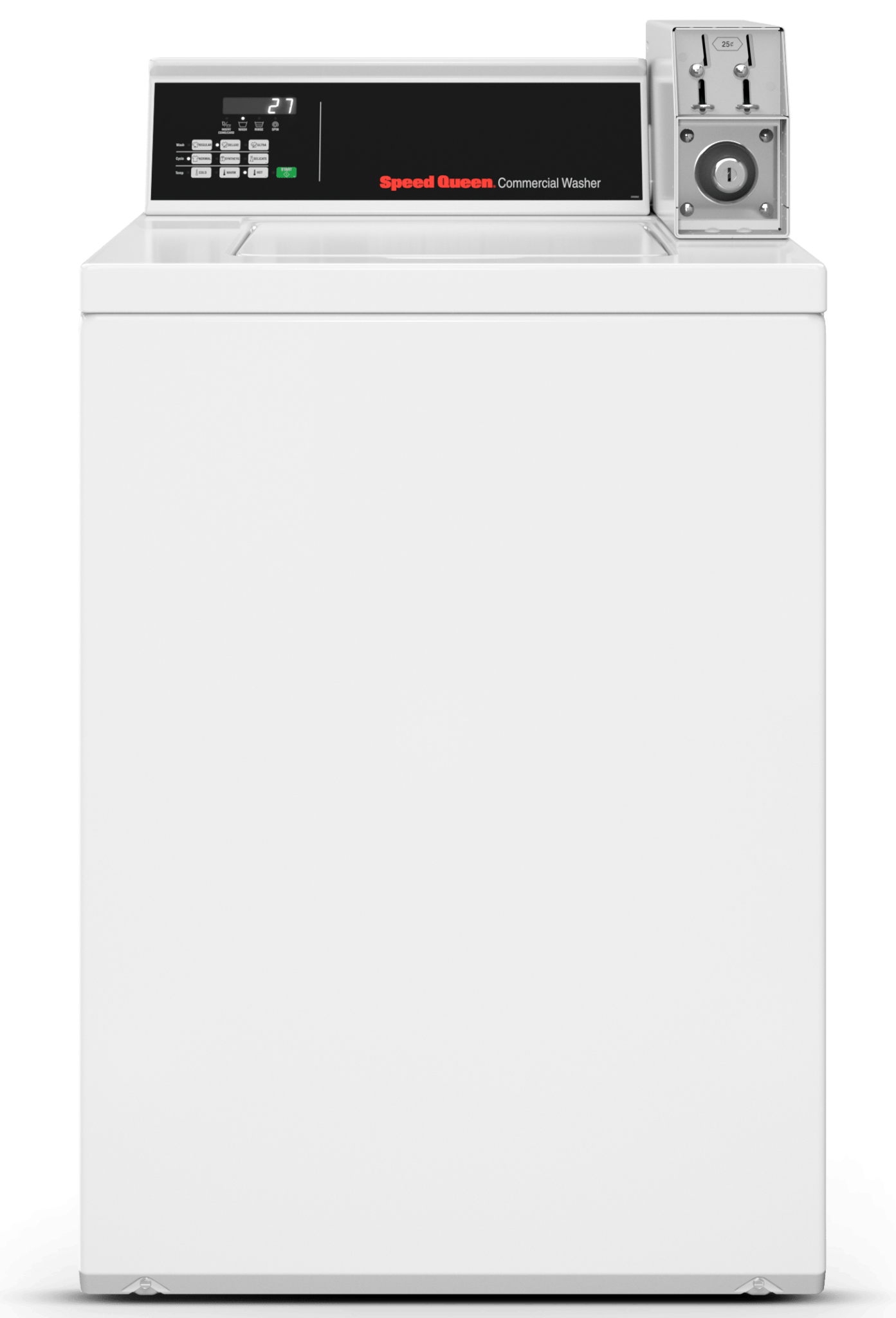 Speed Queen Top Load Washer Used for Multi-Housing Laundry Rooms