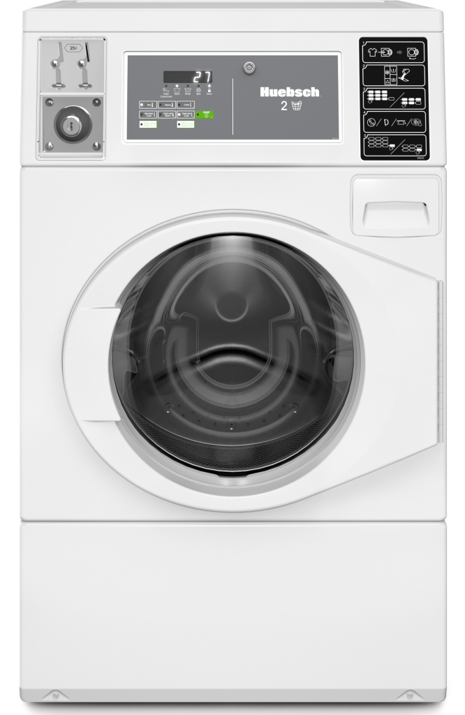 Huebsch Vended Front Load Washer Used for Multi-Housing