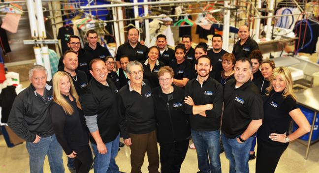 Capitol Restoration Staff Happy with Metropolitan Laundry Service