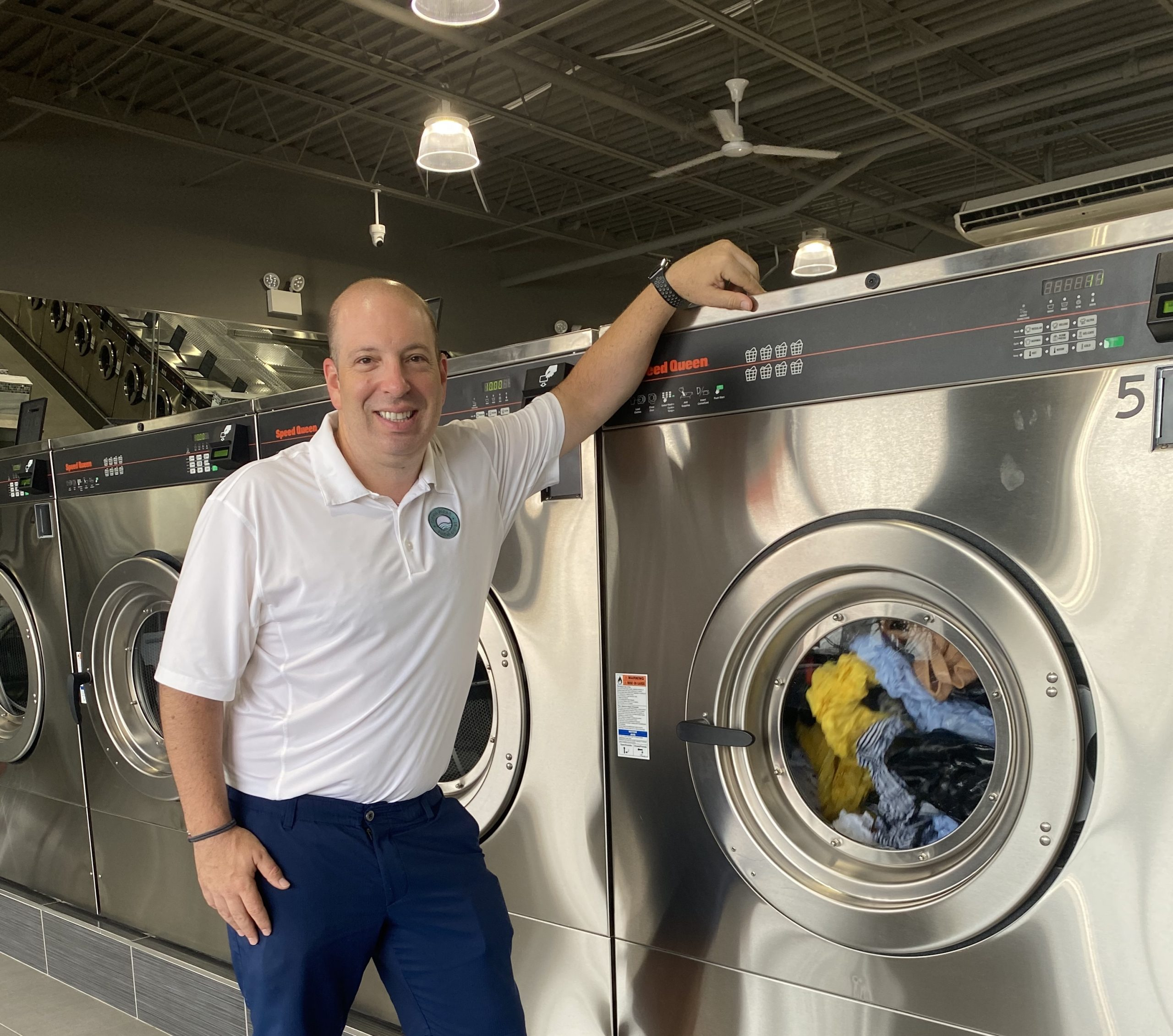 Stephen Gramaglia of CleanFresh Laundry Happy with Metropolitan Laundry Service