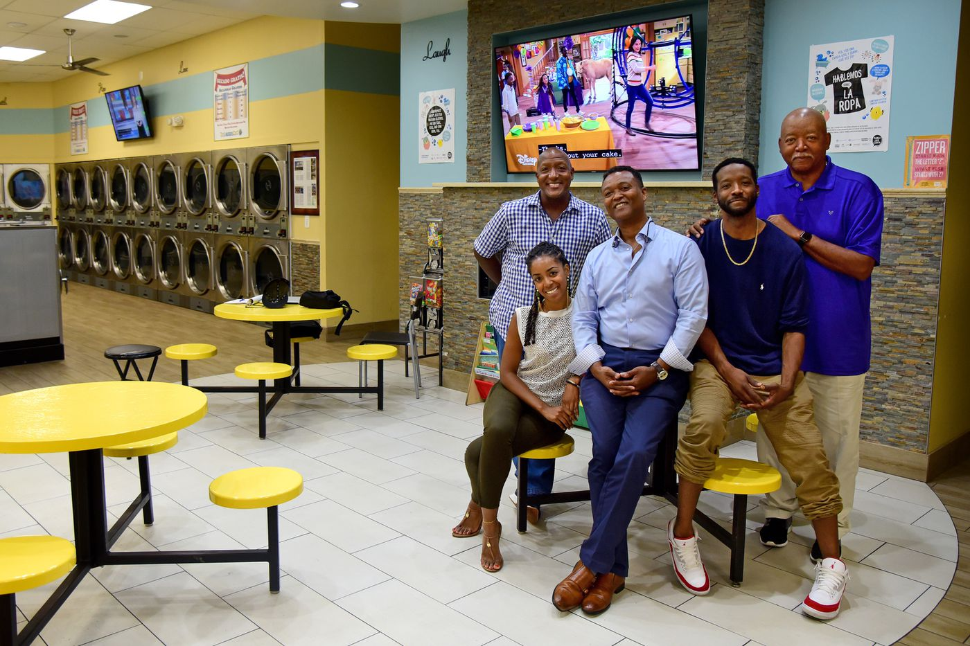 The Laundry Cafe Family Happy with Metropolitan Laundry Service