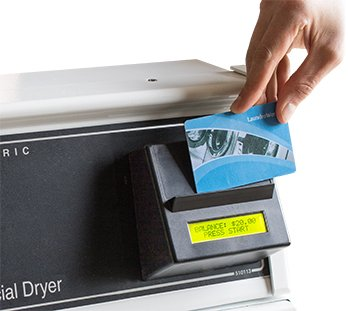 Laundroworks Card Reader payment system
